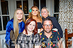 Enjoying the Tesco staff, Manor West shopping centre, annual party held in the Meadowlands hotel, Tralee last Saturday night were, seated Yvonne Donnolly and Eric Rowan, back L-R Denise Vickers, Martina Donnolly and Mary Cronin.