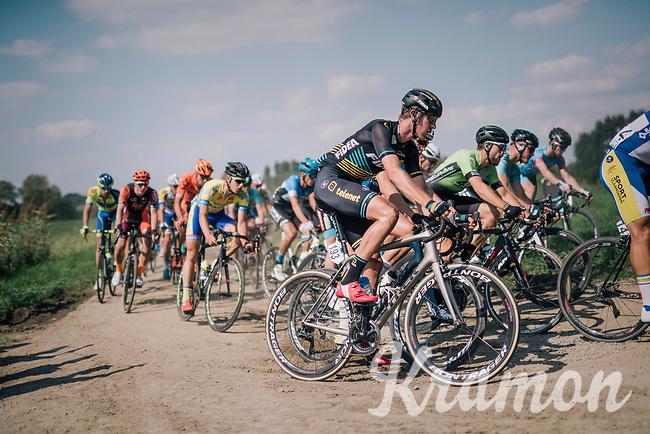 "Toon Aerts (BEL/Telenet Fidea Lions)<br /> <br /> Antwerp Port Epic 2018 (formerly ""Schaal Sels"")<br /> One Day Race:  Antwerp > Antwerp (207 km; of which 32km are cobbles & 30km is gravel/off-road!)"
