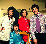 The Kinks 1966 Ray Davies, Pete Quaife, Dave Davies and Mick Avory.© Chris Walter.