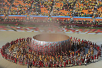 Photo of the opening ceremony of the World Cup 2010 South Africa at the Soccer City stadium of Johannesburg, South Africa