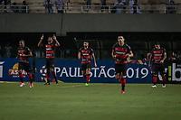 SÃO PAULO, SP 02.03.2019: SANTOS-OESTE - Matheu Jesus comemora gol. Santos e Oeste em jogo válido pela nona rodada do campeonato Paulista 2019, no estádio Pacaembu, zona oeste da capital. (Foto: Ale Frata/Codigo19)