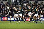 Rodney So'oialo. All Blacks v South Africa. International Tri Nations Rugby. Jade Stadium, Christchurch, New Zealand. Saturday 14 July 2007. Photo: Marc Weakley