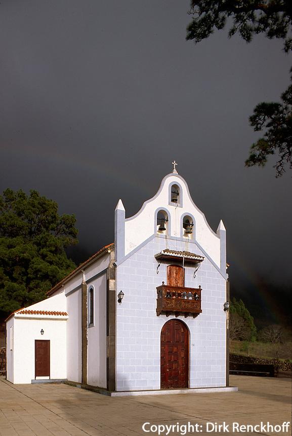 Spanien, Kanarische Inseln, La Palma, El Paso, Ermita de la Virgen del Pino