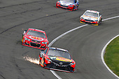 2017 Monster Energy NASCAR Cup Series<br /> Auto Club 400 Auto Club Speedway, Fontana, CA USA<br /> Sunday 26 March 2017<br /> Martin Truex Jr, Bass Pro Shops/TRACKER BOATS Toyota Camry and Jamie McMurray<br /> World Copyright: Russell LaBounty/LAT Images<br /> ref: Digital Image 17FON1rl_6729