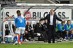 Rosenborg v St Johnstone....18.07.13  UEFA Europa League Qualifier.<br /> Saints boss Tommy Wright<br /> Picture by Graeme Hart.<br /> Copyright Perthshire Picture Agency<br /> Tel: 01738 623350  Mobile: 07990 594431