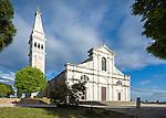 Croatia, Istria, Rovinj - Perl of Istria: church St Eufemija | Kroatien, Istrien, Rovinj - die Perle Istriens: Kirche St. Eufemija