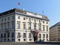 Bundeskanzleramt am Ballhausplatz, Wien, Österreich<br /> Office of the Federal Chancellor, Vienna, Austria