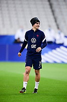 24th March 2021; Stade De France, Saint-Denis, Paris, France. FIFA World Cup 2022 qualification football; France versus Ukraine;   Warm up pregame  GRIEZMANN ANTOINE (France)