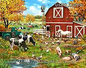 Liz,LANDSCAPES, LANDSCHAFTEN, PAISAJES, LizDillon, paintings+++++,USHCLD0016,#L#, EVERYDAY ,puzzle,puzzles