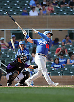 Jake Peter - Los Angeles Dodgers 2020 spring training (Bill Mitchell)