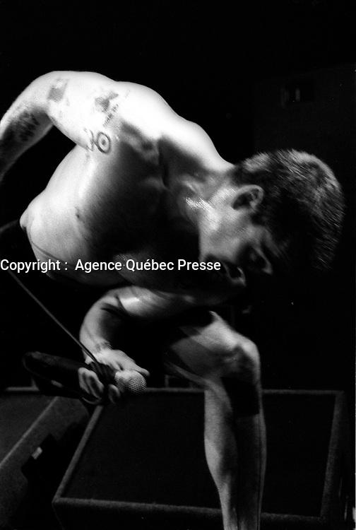 henry Rollins,<br /> (date exacte inconnue)<br /> <br /> PHOTO : Agence Quebec Presse