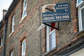 Shabby buy-to-let property, Hammersmith & Fulham, London.