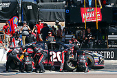 2017 NASCAR Xfinity Series<br /> DC Solar 200<br /> Phoenix International Raceway, Avondale, AZ USA<br /> Saturday 18 March 2017<br /> Erik Jones, Reser's Main St Bistro Toyota Camry pit stop<br /> World Copyright: Russell LaBounty/LAT Images<br /> ref: Digital Image 17PHX1rl_5090