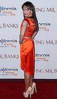 "BURBANK, CA - DECEMBER 09: Karina Smirnoff arrives at the U.S. Premiere Of Disney's ""Saving Mr. Banks"" held at Walt Disney Studios on December 9, 2013 in Burbank, California. (Photo by Xavier Collin/Celebrity Monitor)"