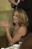 Actress Holly Hunter applauds after Film Director Steven Spielberg received an Honorary Knighthood at a ceremony at the British Embassy in Washington, D.C. on January 29, 2001..Credit: Ron Sachs / Pool via CNP