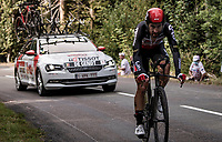 on the steep parts of the individual time trial up the infamous Planche des Belles Filles<br /> <br /> Stage 20 (ITT) from Lure to La Planche des Belles Filles (36.2km)<br /> <br /> 107th Tour de France 2020 (2.UWT)<br /> (the 'postponed edition' held in september)<br /> <br /> ©kramon