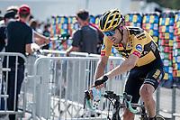 Tom Dumoulin (NED/Jumbo-Visma) going for plant-based milk post-race<br /> <br /> Stage 5: Megève to Megève (154km)<br /> 72st Critérium du Dauphiné 2020 (2.UWT)<br /> <br /> ©kramon