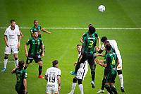 Belo Horizonte (MG) 06/06/21, America-MG x Corinthians - partida entre America-MG e Corinthians, válida pela segunda rodada do Campeonato Brasileiro, Serie A, no Estadio Independencia em Belo Horizonte, MG, neste domingo (06)