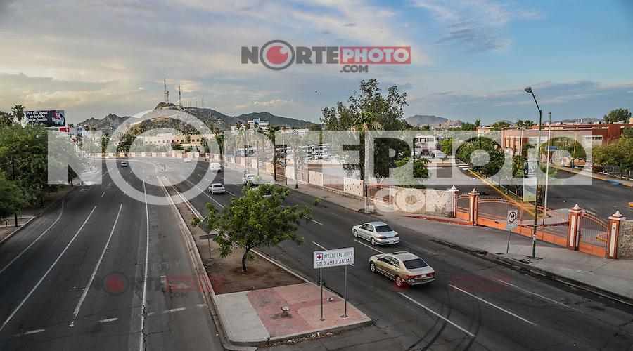 Cerro de la campana, universidad de Sonora y bulevar Luis Encinas de Hermosillo Sonora