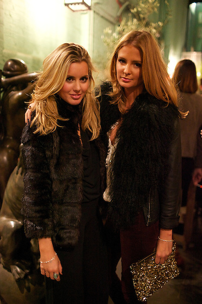 Caggie Dunlop and Millie Mackintosh at Public Nightclub, King's Road Chelsea