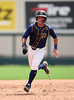 Belen Jesuit Wolverines Gio Cueto (14) during the 42nd Annual FACA All-Star Baseball Classic on June 6, 2021 at Joker Marchant Stadium in Lakeland, Florida.  (Mike Janes/Four Seam Images)