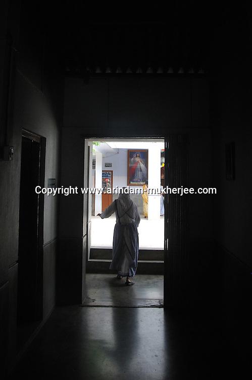 Sishu Bhavan - the house for children founded by Mother Teresa. Kolkata, West Bengal, India. 18th August 2010. Arindam Mukherjee