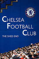2nd October 2021; Stamford Bridge, Chelsea, London, England; Premier League football Chelsea versus Southampton; General view of the Shed End at Stamford Bridge
