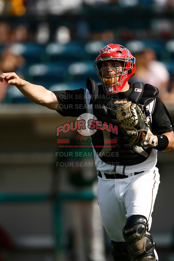 May 20, 2007: Scott Knazek of the Rancho Cucamonga Quakes during game against the Visalia Oaks at The Epicenter in Rancho Cucamonga,CA.  Photo by Larry Goren/Four Seam Images