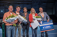 Rotterdam, Netherlands, December 16,  2016, Topsportcentrum,  Coaches Congress , Tennis coach of the year, Winner Bianca de Bruijn<br /> Photo: Tennisimages/Henk Koster