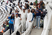 The weather failed to dampen the fans spirits during India vs New Zealand, ICC World Test Championship Final Cricket at The Hampshire Bowl on 21st June 2021