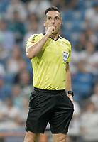 Spanish referee Xavier Estrada Fernandez during La Liga match. August 19,2018.  *** Local Caption *** © pixathlon<br /> Contact: +49-40-22 63 02 60 , info@pixathlon.de