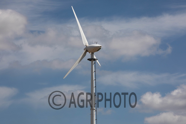 On farm wind turbine<br /> ©Tim Scrivener Photographer 07850 303986<br />      ....Covering Agriculture In The UK....