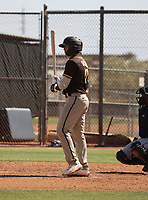 Zayed Salinas - San Diego Padres 2021 extended spring training (Bill Mitchell)