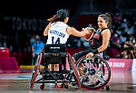 Rosalie Lalonde, Tokyo 2020 - Wheelchair Basketball // Basketball en fauteuil roulant. <br /> Canada takes on Great Britain in the preliminary round // Le Canada affronte la Grande-Bretagne au tour préliminaire. 25/08/2021.