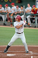 Ricky Oropesa, University of Southern California Trojans against the Arizona State Sun Devils at Packard Stadium, Tempe, AZ - 04/16/2010.Photo by:  Bill Mitchell/Four Seam Images.
