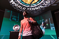 Rotterdam, The Netherlands, 14 Februari 2019, ABNAMRO World Tennis Tournament, Ahoy, Nikoloz Basilashvili (GEO)<br /> Photo: www.tennisimages.com/Henk Koster