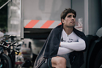 Mikel Landa (ESP/SKY) waiting for doping control after the race<br /> <br /> 104th Tour de France 2017<br /> Stage 20 (ITT) - Marseille › Marseille (23km)