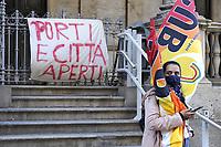 - Milan, demonstration in support of NGO working at sea to rescue migrants<br /> <br /> - Milano, manifestazione in favore delle ONG che operano in mare per il salvataggio dei migranti
