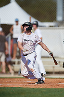 Tony Sortino during the WWBA World Championship at the Roger Dean Complex on October 18, 2018 in Jupiter, Florida.  Tony Sortino is a catcher from Phoenix, Arizona who attends Horizon High School and is committed to New Mexico State.  (Mike Janes/Four Seam Images)