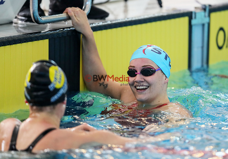 Paige Flynn, 100m Freestyle. Swimming New Zealand National Short Course Championships, National Aquatic Centre, New Zealand, Saturday 6th October 2018. Photo: Simon Watts/www.bwmedia.co.nz