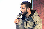 Real Madrid's players Nacho Fernandez attends to the presentation of the new Adidas shoes Red Limit at Adidas Gran Via Store in Madrid. November 28, 2016. (ALTERPHOTOS/Borja B.Hojas)