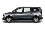Car driver side profile view of a 2017 Dacia Lodgy Stepway 5 Door Mini Van