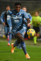 Duvan Zapata of Atalanta BC in action during the Serie A football match between Spezia Calcio and Atalanta BC at Dino Manuzzi stadium in Cesena (Italy), November 20th, 2020. Photo Andrea Staccioli / Insidefoto