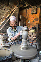 Potter in Bhaktapur