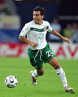 Luis Perez (23) of Mexico. Portugal defeated Mexico 2-1 in their FIFA World Cup Group D match at FIFA World Cup Stadium, Gelsenkirchen, Germany, June 21, 2006.