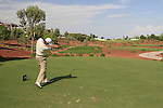 Padaig Harrington tees off on the 2nd tee during  Day 2 at the Dubai World Championship Golf in Jumeirah, Earth Course, Golf Estates, Dubai  UAE, 20th November 2009 (Photo by Eoin Clarke/GOLFFILE)