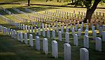 SALISBURY, NC 050521MB31—at the Salisbury National Cemetery in Salisbury, NC. <br /> Martin Begnal Republican American