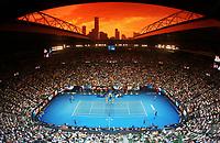 MELBOURNE,AUSTRALIA,25.JAN.18 - TENNIS - ATP World Tour, Grand Slam, Australian Open. Image shows Rod Laver Arena. Photo: GEPA pictures/ Matthias Hauer / Copyright : explorer-media