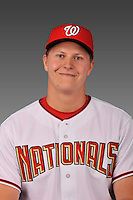 14 March 2008: ..Portrait of Erik Arnesen, Washington Nationals Minor League player at Spring Training Camp 2008..Mandatory Photo Credit: Ed Wolfstein Photo