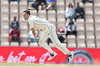 Trent Boult, New Zealand in action during India vs New Zealand, ICC World Test Championship Final Cricket at The Hampshire Bowl on 23rd June 2021